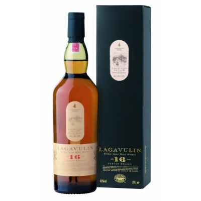����������� ������������� (single malt) ����� 16 ��� ��������� 16 ��� ���������� �������� Lagavulin 16 years Gift box