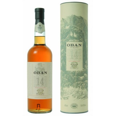 ����������� ������������� (single malt) ����� 14 ��� ����� 14 ��� ���������� ���� Oban 14 years Gift tube