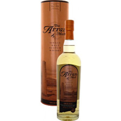 Шотландский односолодовый (single malt) виски Арран Ориджинал Подарочная туба ARRAN Original Gift tube