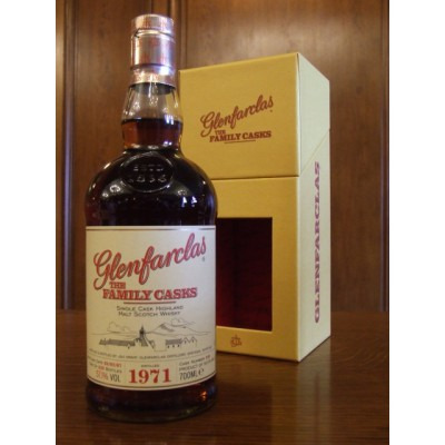 ����������� ������������� (single malt) ����� ����������� 1971 ���������� �������� Glenfarclas 1971 Gift box