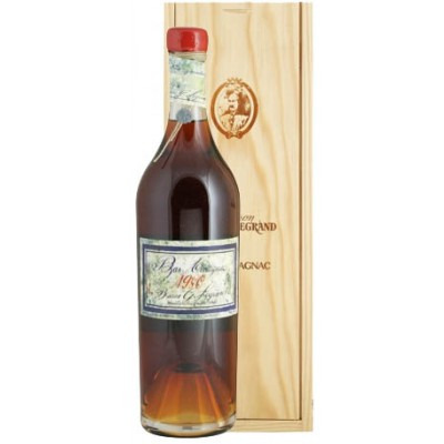 Французский арманьяк Ба Арманьяк 1980 Деревянный ящик Bas Armagnac 1980 Wooden box