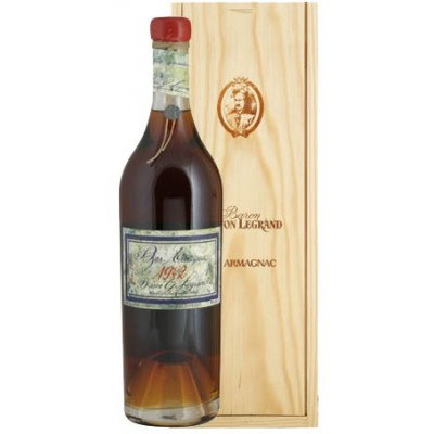 Французский арманьяк Ба Арманьяк 1982 Деревянный ящик Bas Armagnac 1982 Wooden box
