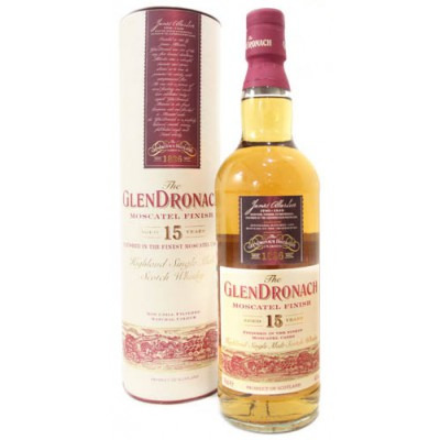 ����������� ����� 15 ��� ���������� ��������� 15 ��� ���������� ���� Glendronach Moscatel 15 years Gift tube