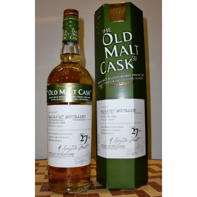 Шотландский виски 27 лет Гленливет Олд Молт Каск 1980 27 лет Glenlivet Old Malt Cask 1980 27 years