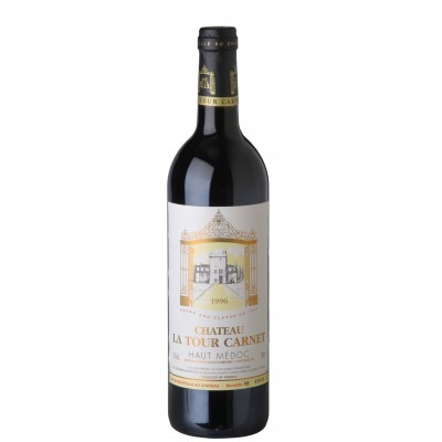 Французское красное сухое вино Шато ля Тур Карне 2009 AOC Grand Cru Chateau La Tour Carnet 2009 АОС Гран Крю