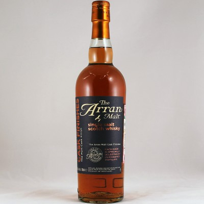 Шотландский односолодовый (single malt) виски Арран Порт Каск Финиш Подарочная туба Arran Port Cask Finish Gift tube