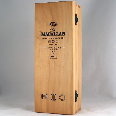 Шотландский односолодовый (single malt) виски 21 год Макаллан Файн Оук 21 год Подарочная упаковка Macallan Fine Oak 21 years Gift box