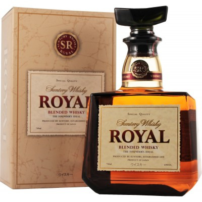 �������� ��������� (blended) ����� 12 ��� C������ ����� 12 ��� ���������� �������� Suntory Royal 12 years Gift box