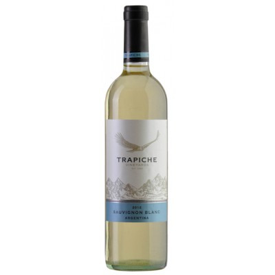 Аргентинское белое полусухое вино Виньярдс Совиньон Блан 2015 Vineyards Sauvignon Blanc 2015