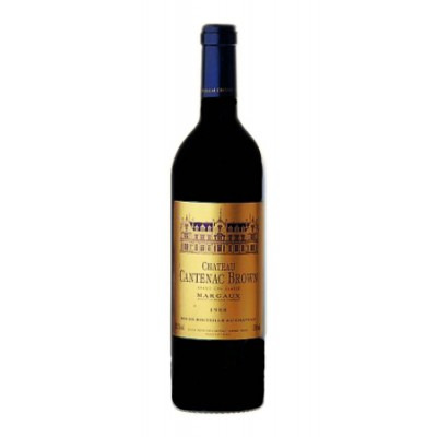 Французское красное сухое вино Шато Кантенак Браун 2009 AOC 3-em Grand Cru Classe Chateau Cantenac Brown 2009 АОС 3-е Гран Крю Классе
