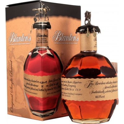 Американский виски бурбон Блэнтон'с Ориджинал Подарочная упаковка Blanton's Original Gift box