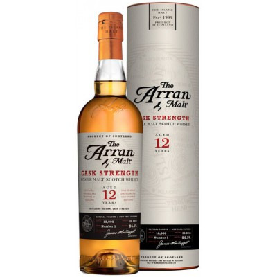 ����������� ������������� (single malt) ����� 12 ��� ����� 12 ��� ���������� ���� Arran 12 years Gift tube
