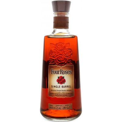 Американский виски бурбон Фо Роузес Сингл Баррел Four Roses Single Barrel