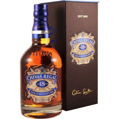 ����������� �������������� (blended) ����� 18 ��� ����� ����� 18 ��� ���������� �������� Chivas Regal 18 years Gift box