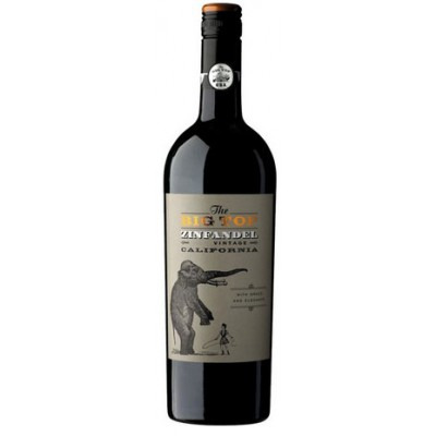 Американское красное полусухое вино Зе Биг Топ Зинфандель 2015 The Big Top Zinfandel 2015