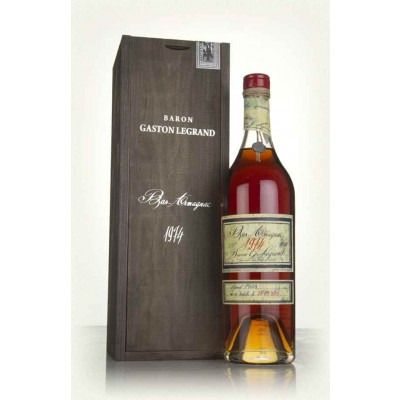Французский арманьяк Ба Арманьяк 1974 Деревянный ящик Bas Armagnac 1974 Wooden box