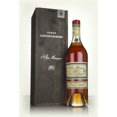 Французский арманьяк Ба Арманьяк 1991 Деревянный ящик Bas Armagnac 1991 Wooden box