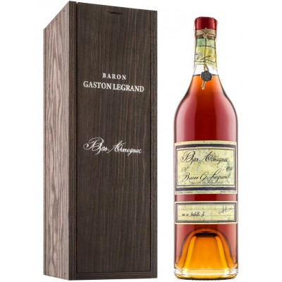Французский арманьяк Ба Арманьяк 1969 Деревянный ящик Bas Armagnac 1969 Wooden box