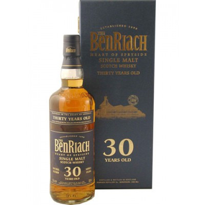 ����������� ������������� (single malt) ����� 30 ��� ������� 30 ��� Benriach 30 years